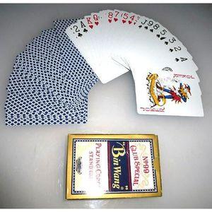 CARTES DE JEU Lot de 3 - Jeu de 52 cartes spécial club - Qualité