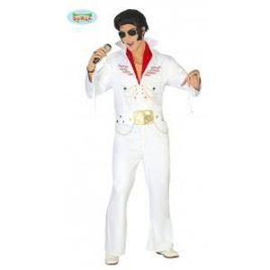 Elvis Le Roi années 1960 Rock N Roll Déguisement une combinaison et une Cape Costume