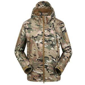 BLOUSON DE SKI JTong Blouson Homme Militaire Armée Camouflage Par