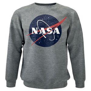SWEATSHIRT Sweat-shirt NASA - NASA Logo Grunge