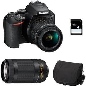APPAREIL PHOTO RÉFLEX NIKON D3500 + AF-P DX 18-55mm 3.5-5.6G VR + AF-P D
