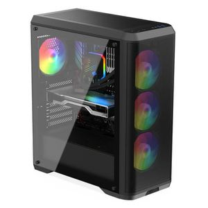 UNITÉ CENTRALE  PC Gamer, AMD Ryzen 7, RX570, 2To HDD, 16 Go RAM,