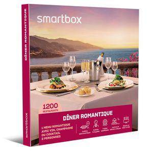 COFFRET GASTROMONIE Coffret Cadeau - Dîner romantique - Smartbox