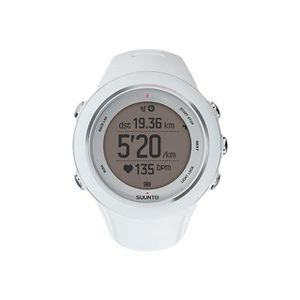 MONTRE OUTDOOR - MONTRE MARINE SUUNTO Montre Cardio GPS AMBIT 3 SPORT WHITE HR -