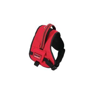 Zolux Moov Harnais Confort R/églable R/éflectif pour Chien Coloris Noir Tour de Cou de 30 /à 40 cm //Tour de Poitrine de 38 /à 51 cm Taille XS