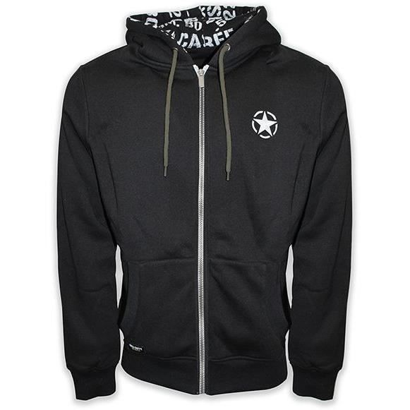 Sweatshirt Call Of Duty : Freedom Star - Noir
