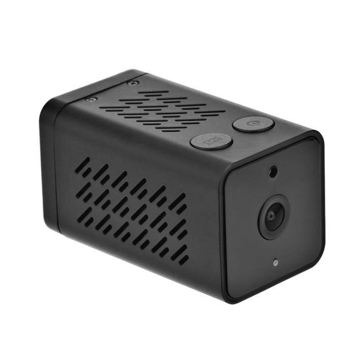 Vision nocturne de détection de mouvement d'enregistreur vidéo audio audio de mini caméra WiFi 1080P