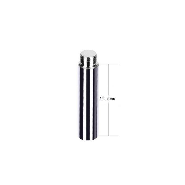 Diamètre 45mm x 12.5-25-50 Cm Prolonger Le Poteau Tube Amovible Rallonge Barre De Strip-Tease Pirou - Modèle: 12.5cm - HSJSZHA10319