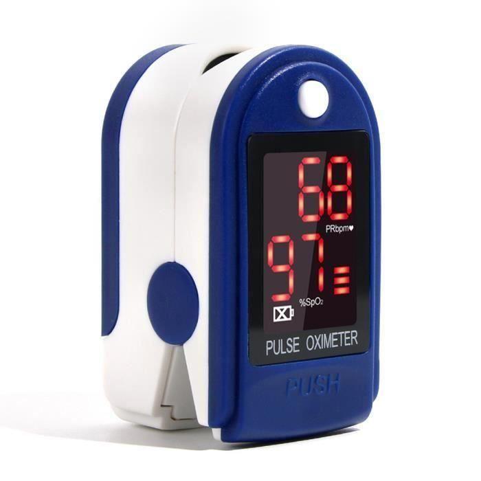 Testeur de pince de doigt, compteur OLED, portable