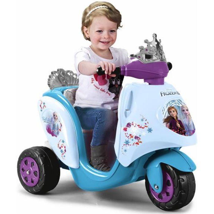 Scooter électrique pour enfant - La reine des neiges 2 - FEBER