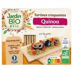 JARDIN BIO Tartines croquantes Quinoa