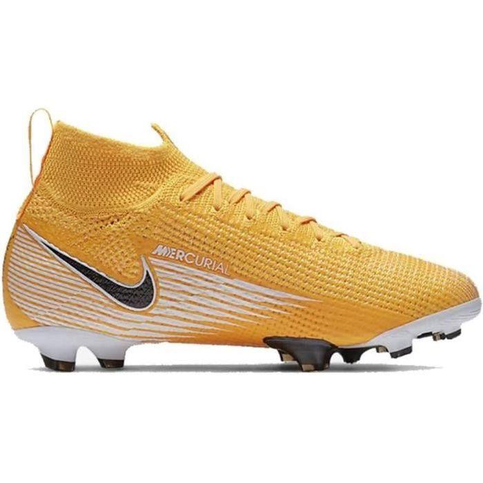Nike Chaussures de Football Jr.Mercurial Superfly 7 Elite Fg Orange 36