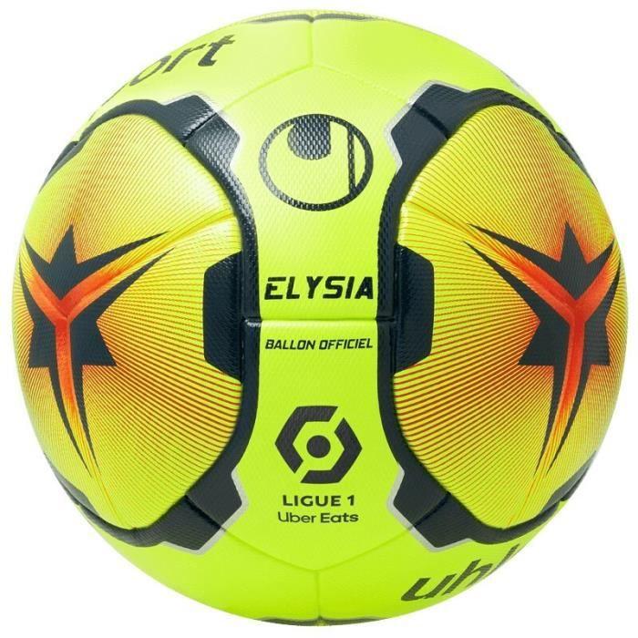 Ballon Uhlsport Elysia officiel - jaune paille/rouge paille/bleu marine - Taille 5