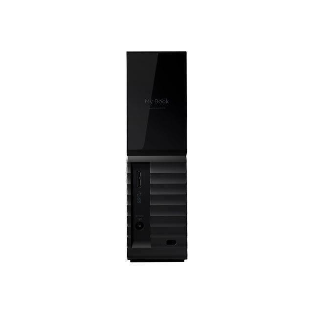 WD - Disque Dur Externe de bureau - My Book - 4To - USB 3.0 - Noir