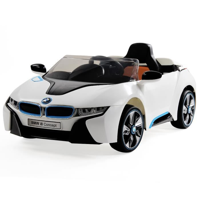 voiture v hicule lectrique bmw i8 pour enfant jouet led. Black Bedroom Furniture Sets. Home Design Ideas