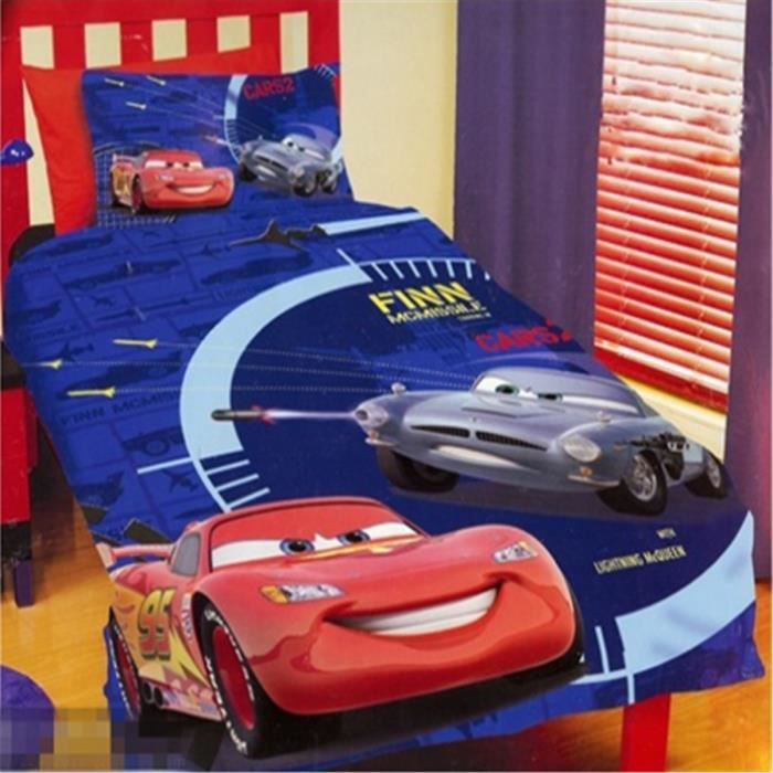 lm parure de lit enfant cars 100 polyester achat. Black Bedroom Furniture Sets. Home Design Ideas