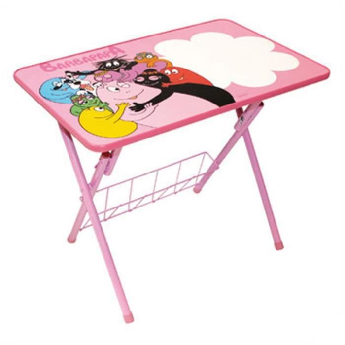 table d 39 activit s pour enfant barbapapa famille achat. Black Bedroom Furniture Sets. Home Design Ideas