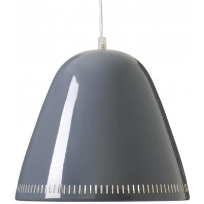 Grande lampe suspension grise achat vente grande lampe for Suspension grise