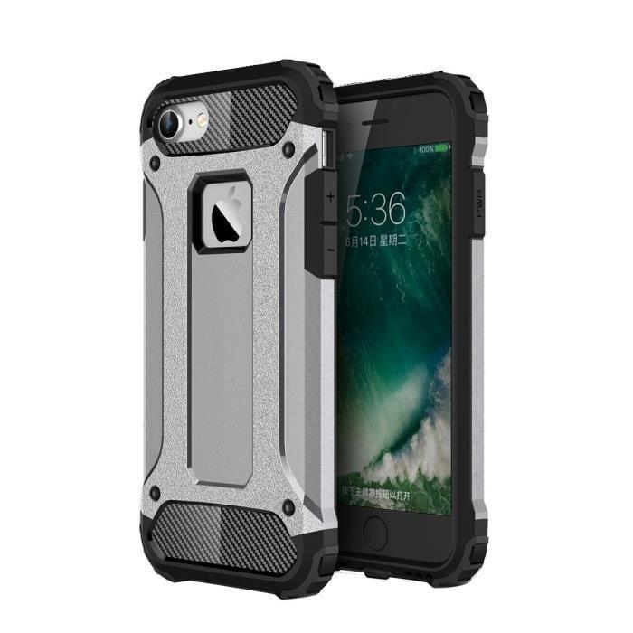 coque iphone 7 silicone gris