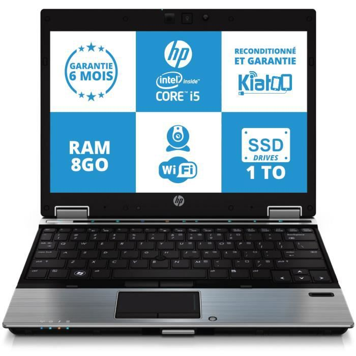 ordinateur portable hp elitebook 2540 ultrabook intel core. Black Bedroom Furniture Sets. Home Design Ideas