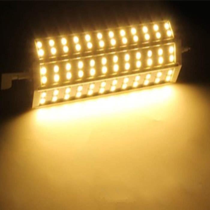 AMPOULE - LED R7S 15W 72 LEDs 5050 SMD Ampoule basse consommatio