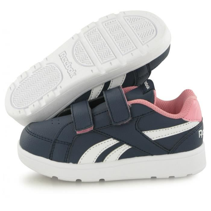 Reebok Royal Cl Prime Bb bleu, baskets mode enfant