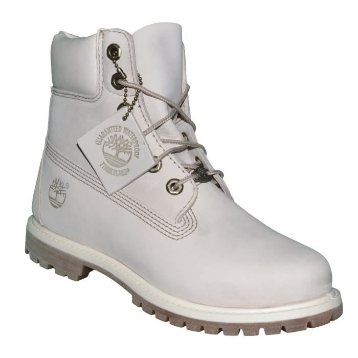 Chaussures Boots - Timberland - 6 In Premium Winter 23623 - Off White Ecru oGXjaD