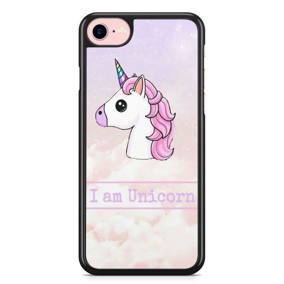 coque iphone 5c licorne i am unicorn fille princ