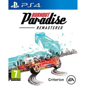 JEU PS4 Burnout Paradise: Remastered Jeu PS4