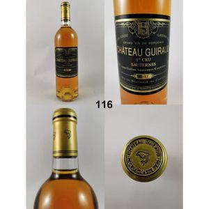 VIN BLANC Château Guiraud 2001, Sauternes, Blanc Liquoreux,