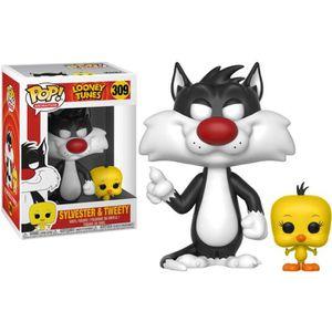 FIGURINE - PERSONNAGE Figurine Funko Pop! Looney Toons: Titi & Grosminet