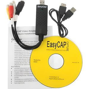 ADAPTATEUR ACQUISITION EasyCap USB - Stick de capture video+audio USB 2.0