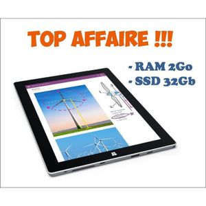 TABLETTE TACTILE Microsoft Surface 3 - Tablette - RAM 2Go - SSD 32G