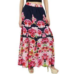 JUPE bimba jupe coton femmes taille élastique été impri