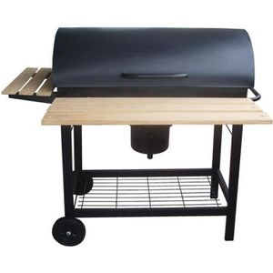 BARBECUE Le Caloundra : Barbecue roulette couvercle charbon