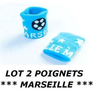 POIGNET ÉPONGE Lot 2 Bracelets poignet éponge 100% coton MARSEILL
