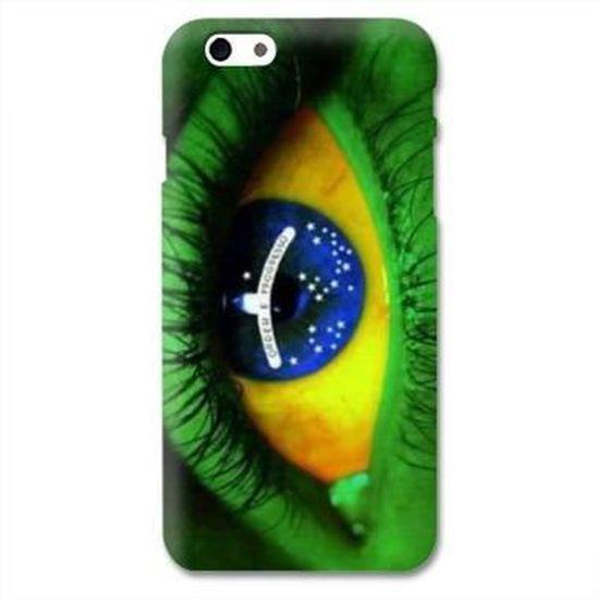 Coque Iphone 6 Bresil - - Brésil oeil