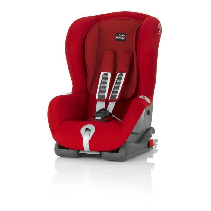 BRITAX ROMER Siège Auto Groupe 1 Duo Plus Flame Red