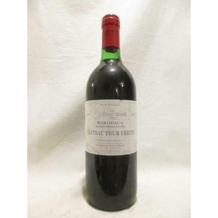 bordeaux château tour vérité rouge 2003 - bordeaux