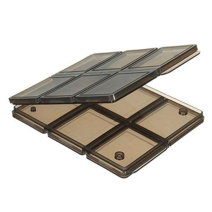 Pliable 12 Slot SIM-Micro SD-TF Mémoire Carte Housse Boîte Stockage Rangement Gr53434
