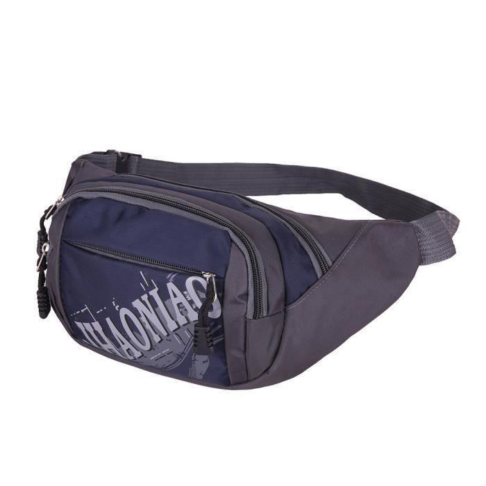 Nouvelle ceinture de course Bum taille poche hip Travel Pack zip sac de sport KE63DC