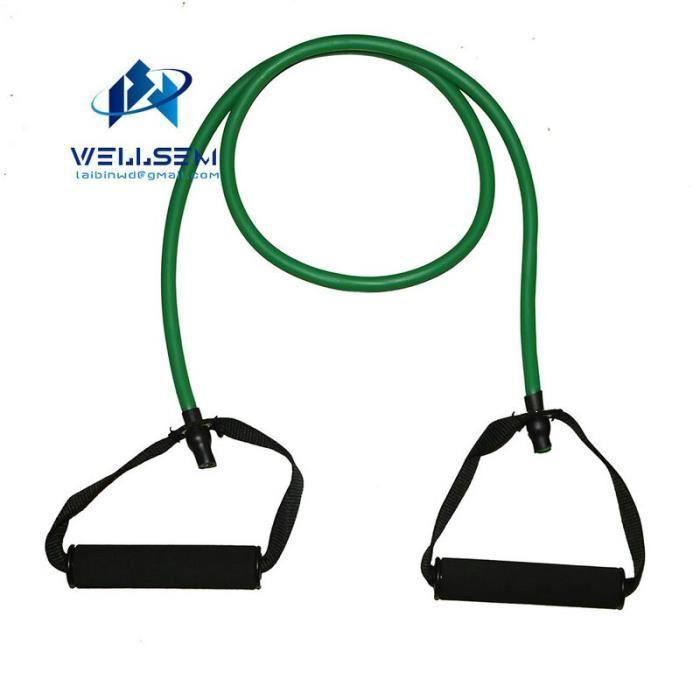 Accessoires Fitness - Musculation,Élastique Yoga tirer corde Fitness résistance bandes exercice Tubes entraînement - Type green
