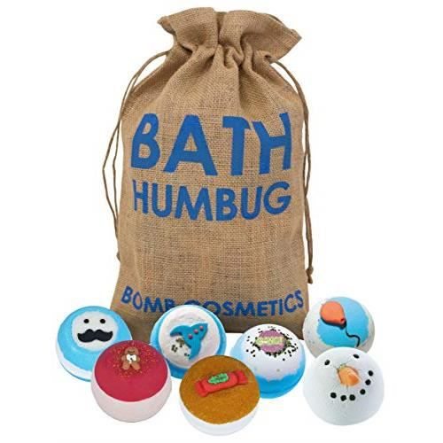 Bomb Cosmetics Pochette cadeau de boules effervescentes pour le bain en toile de jute faite à la main GBATHUM03