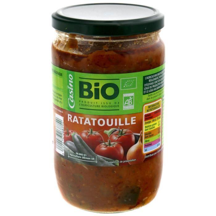 Ratatouille bio - 630g