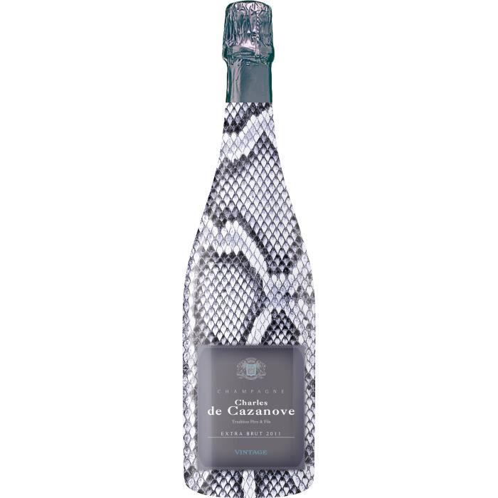 Champagne Charles de Cazanove Collection Sauvage Extra Brut - 75 cl