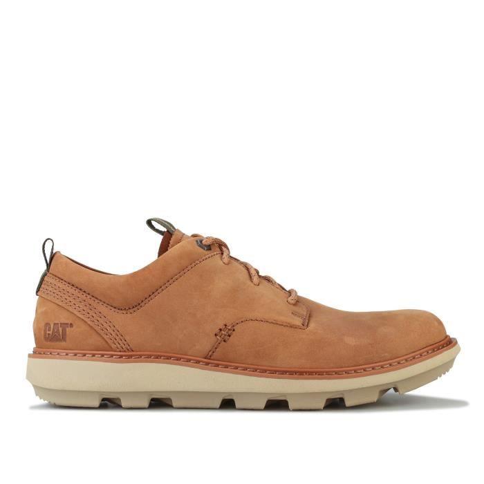 Chaussures Caterpillar Brusk Pour Homme En Marron.