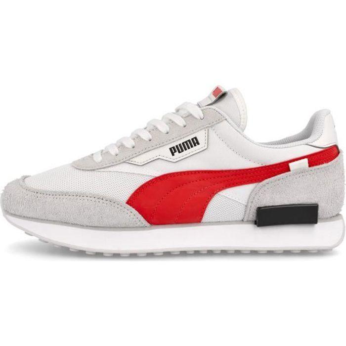 Chaussures de lifestyle Puma Futur rider vintage - blanc/gris/rouge - 42,5