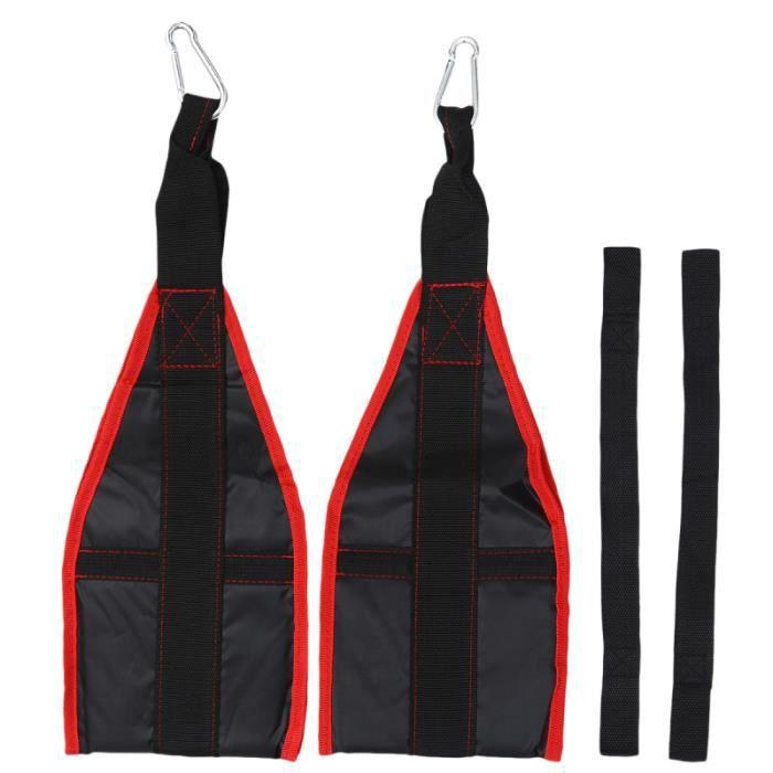 1 paire de ceinture d'entraînement abdominale pull-up force de base bras crunch exercice musculaire APPAREIL D'ELECTROSTIMULATION