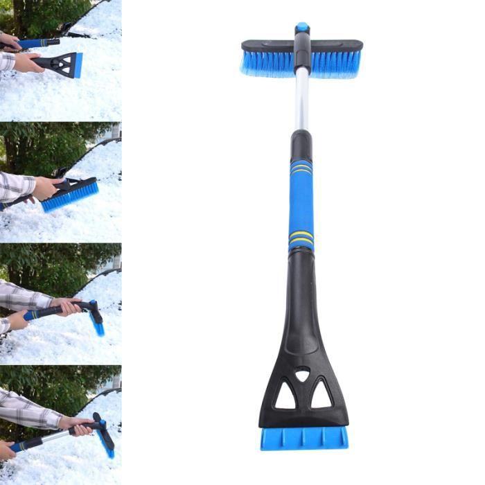 Grattoir à neige pour voiture Dégivrage de télescopique sur Outils de nettoyage Pelle à Brosse pare-brise de COFFRET NETTOYAGE