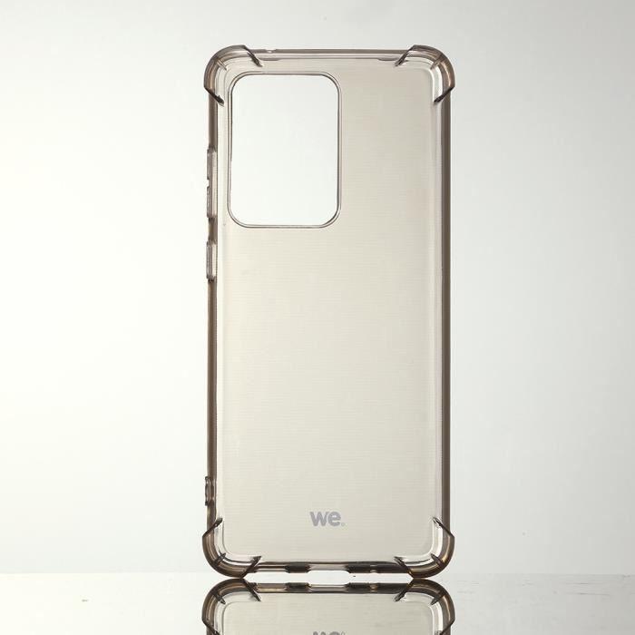 WE Coque de protection NOIR pour Samsung Galaxy S20 ULTRA Fabriqué en TPU. Ultra résistant Apparence du téléphone conservée.